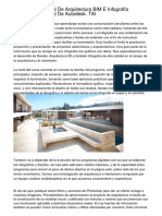 Carrera Profesional De Arquitectura BIM E Infografía Hiperrealista Oficial De Autodesk. TAI