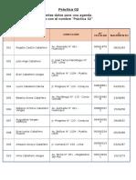 Excel Práctica 02
