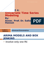 Lecture 4 ARIMA