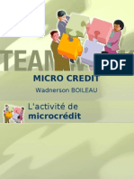 Micro Credit -Formation
