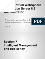 IBM Certified WAS 8.5 Administration Intelligent Management