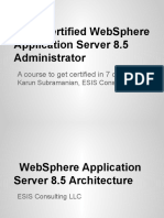 IBM Certified WAS 8.5 Administrator Architecture