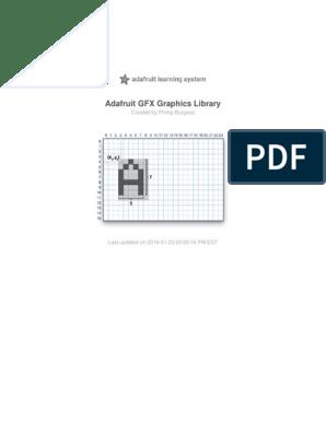 adafruit-gfx-graphics-library pdf   Typefaces   Pixel