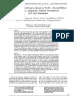 Preschool and Kindergarten Behavior Scales – Second Edition (PKBS-2):