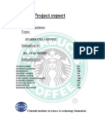 Starbucks Marketing Plan  Kinzy_007 Comsian