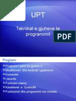 Teknikat e Gjuheve Te Programimit-1