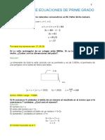 5 Problemas de Ecuaciones de Prime Grado