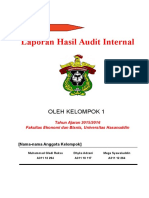 CH 17 Laporan Hasil Audit Internal