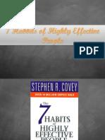 7 Habbits Daily Activities
