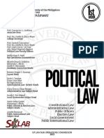 UP Bar Reviewer 2013 - Political Law (Part 1)