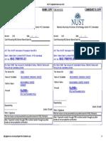 NUST Postgraduate Admissions-2016