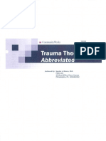 Trauma Theory Abbreviated Sandra Bloom