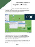 Pagína Web Con OpenOffice