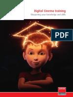 Digital Cinema Training Brochure