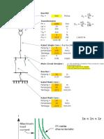 Perhitungan Short Circuit Trafo 1000 KVA