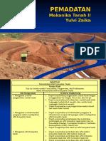 Teori Pemadatan tanah