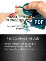 Insulin Use