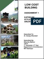 Kathkuni Style Architecture in detail