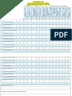Formato para evaluar la gestión del docente en el desarrollo y revisión de cuadernos