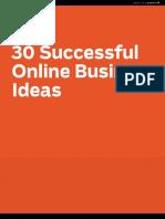 30 Successful Business Ideas