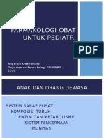 Farmakologi Obat Pediatri Nana