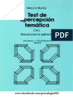 Tat Henry - Murray Manual Aplicación