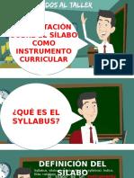 Taller de Syllabus