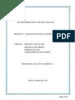 Estudio Hidrologico e Hidraulico Rio Tabasara