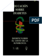 Educacion Sobre Diabetes Disminuyamos El Costo de La Ignorancia.pdf