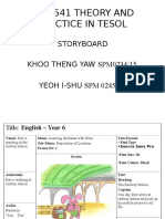 I-Shu and Khoo's Storyboard