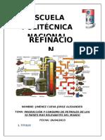 Paises Productores y Consumidores de Petroleo (Jimenez Jorge)