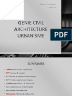 Genie Civil Archi Urbanisme