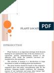 Lec 06 Plant Location