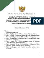 Sambutan Menperin Rakor Wil III Solo 24 Febr 2016 Net