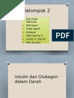 Insulin Dan Glukagon Dalam Darah