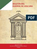 Boletin Museo Regional de Atacama 5