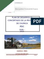 Plan de Desarrollo Concertado Chupaca