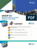 Production of 21,000 ethylene oxide