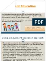 movement education pp
