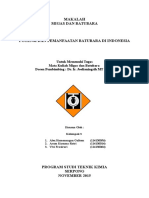 Potensi, Pemanfaatan, dan Kebijakan Pertambangan Batubara Indonesia.docx