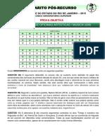 (E00238_2015)Gabarito Pós-recurso Música (Objetiva) - UERJ 2015