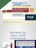 INFORME SIMULADOR TEMPOMATIC