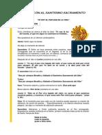 Manual de Adoración Al Santísimo-Doctrinarios y Laicos