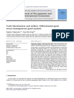 Takatsuka and Zeng (2012)_Trade Liberalization and Welfare Differentiated-good