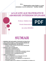 aplicatiialematematicii