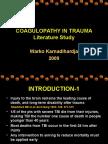 Head Injury Coagulopathy