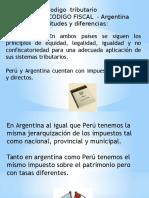 Ccodigo tributario peru y argentinaodigo Tributario Peru y Argentina