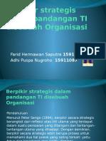 Berpikir Strategis Dalam Pandangan TI Disebuah Organisasi