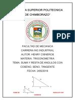 Semejanza de Triangulos.H.C