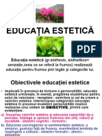 8.EDUCATIA ESTETICA